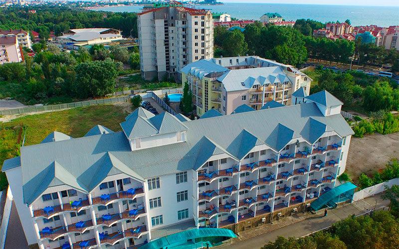 Отель Мандарин Анапа 3*